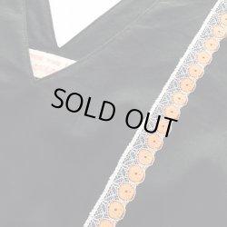 画像2: レトロレースのジャンパースカート
