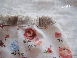 画像3: 【SALE】 お花ボーダーのロングスカート