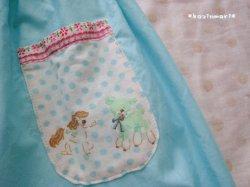 画像2: 【SALE】 レトロアニマルのミントスカート